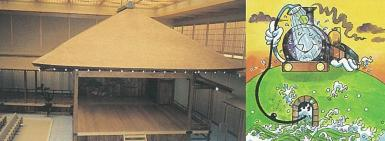 Fotografía del Yokohama fase principal del teatro del Noh