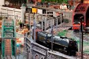 Original railroad model Museum