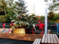 Parque zoológico de Nogeyama árbol de Navidad