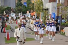 Firefighting de Yokohama-shi la banda musical