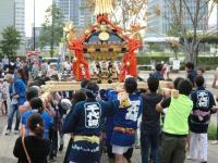 Minato Mirai otoño el mikoshi festivo