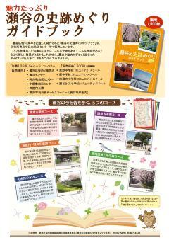 Cartel de guía de manchas histórico visitando de Seya