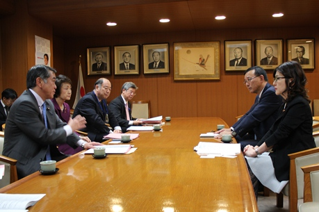 Image of state of request in the LDP