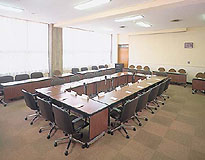 The governing board desk placement