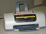 Inkjet printer (color) photograph
