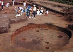 Una fotografía: Excavo los restos de Taipei por el verano de 1978