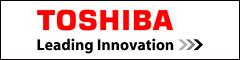 Estandarte de corporación de TOSHIBA