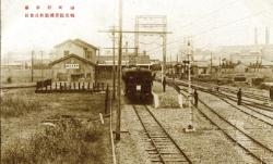 Image of Ogimachi Station (the early days of the Showa era)