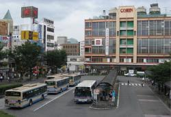 Image of former JR Tsurumi Station (around 2008)
