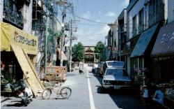 Image of the neighborhood of Shiota Shrine (around 1955)