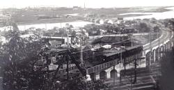 Image of Tsurumi port railroad (the early days of the Showa era)