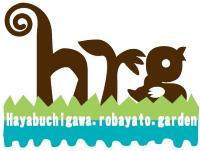 The Hayabuchi River, old horse valley garden project logo mark