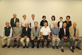 Review meeting member photograph